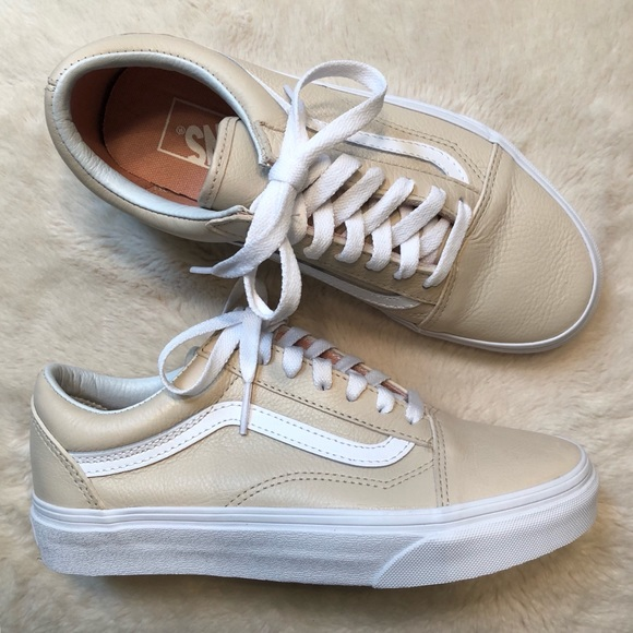 46c1594c15 Leather Old Skool Vans. M 5bbe69fd34a4efb49a2787f9